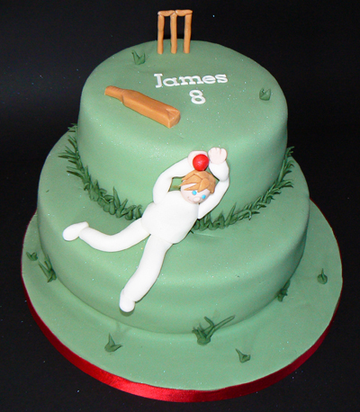 Cakes by Clare - Cricket Cake